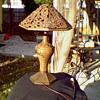 Antique orential lamp.