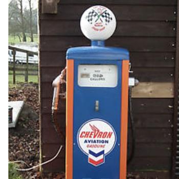 Wayne 114 vintage petrol pump - Petroliana
