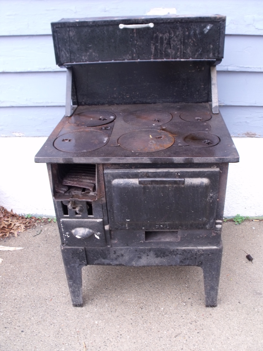 Old Sears Roebuck Co Wood Burning Cook Stove