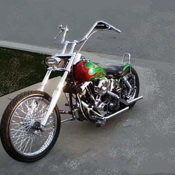 1976 Shovelhead - Motorcycles