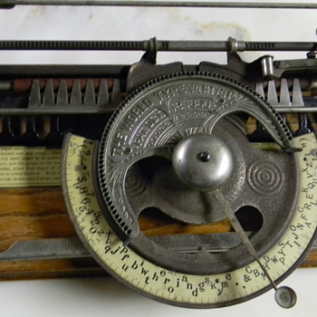 world 1 typewriter