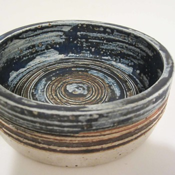 Tue Poulson Danish Shallow Bowl Pottery - Pottery