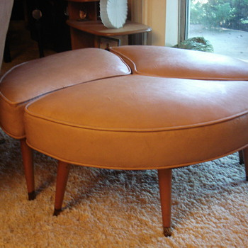 Footstools in THIRDS!! Mid Century Modern