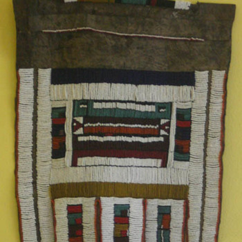 antique wedding apron for a bride from Zimbabwe - Folk Art