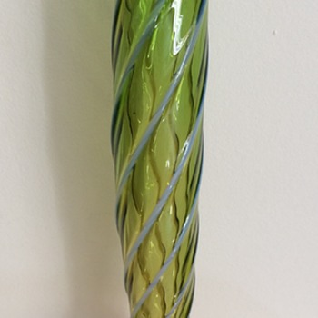 Thorn footed uranium tube - Welz combination - Art Glass