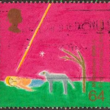 "1999 - Britain ""Christian Christmas"" Postage Stamp"