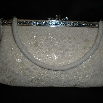 "beaded bag ""Guaranteed Handmade Tokoyo"""