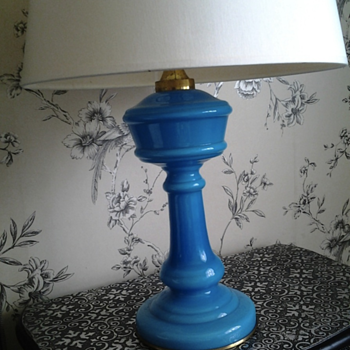 My favourite turquise table lamp - Lamps
