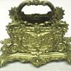 "Brass Letter Holder,Victorian Rococo style""late XIX Century"