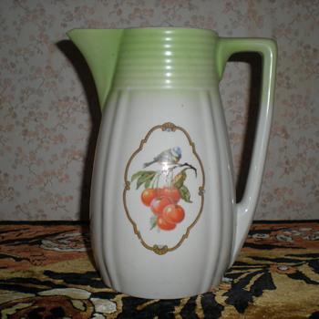 Bulgarian Art Deco porcelain jug! - Art Deco