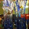 Oread Blue Vases