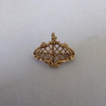 Watch pin - Costume Jewelry