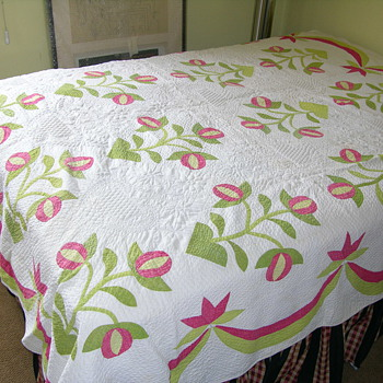Red/Green Quilt