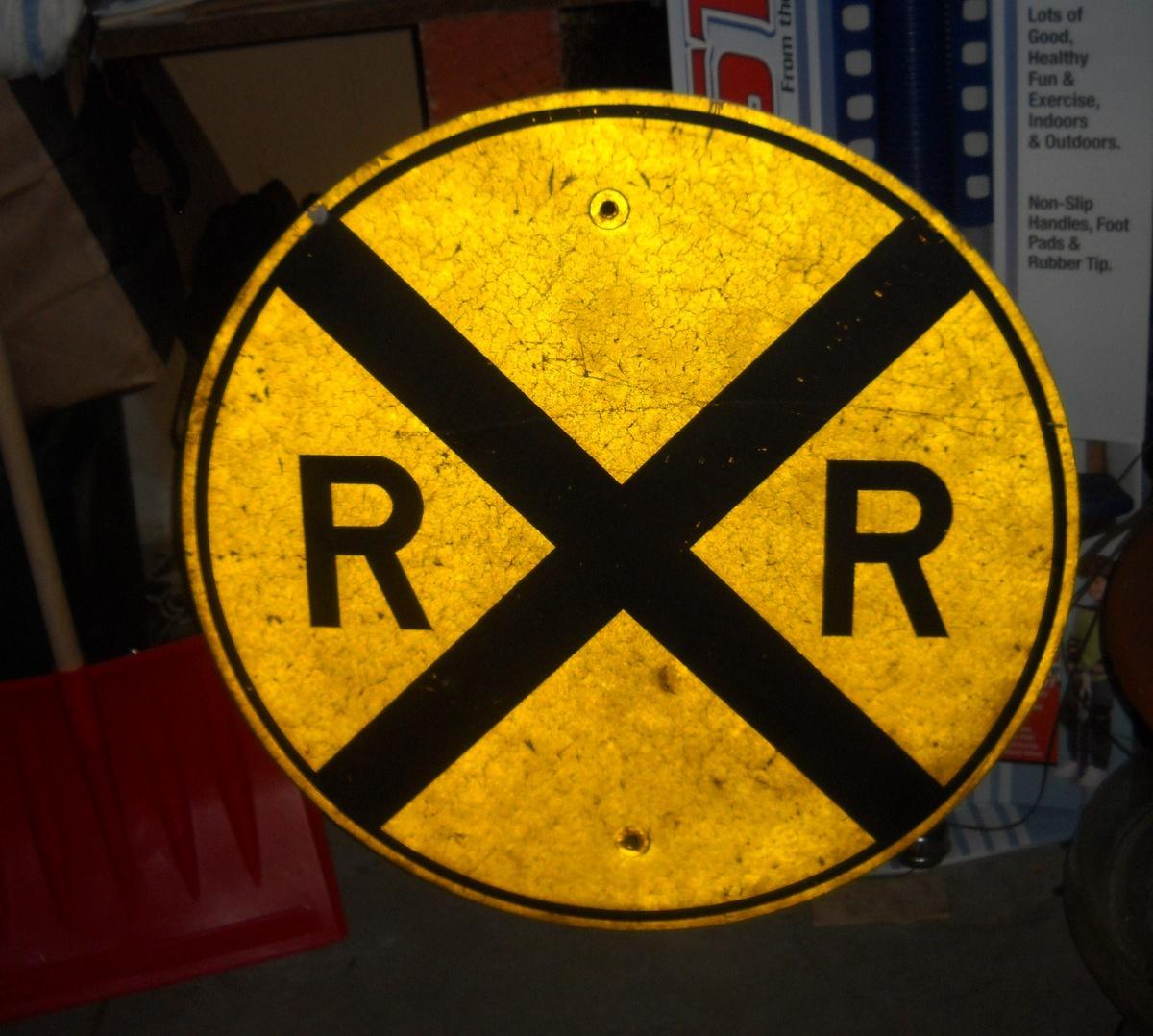 Vintage Railroad Signage