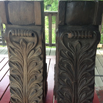 Hand carved oak Fireplace Surrounds - Tools and Hardware