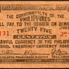 Philippines - (25) Centavos Guerilla Bank Note - 1942