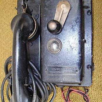 Old Crank-Type Phones - Telephones