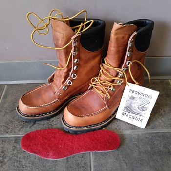 Vintage Browning Magnum Sportsman Hunting Boots Size 9 - Shoes