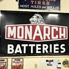 Super rare Monarch batterie sign