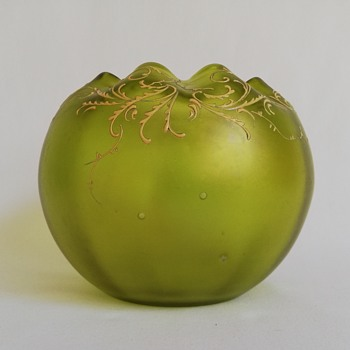 Loetz Rose Bowl - Art Glass