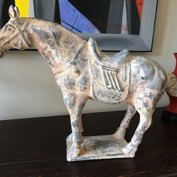 Chinese Terracotta Horse  - Asian