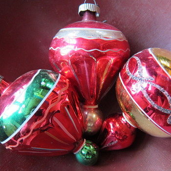 Vintage Christmas Ornaments - Christmas