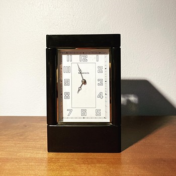 TIFFANY & Co DECO CLOCK  - Art Deco