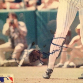 Signed Photo of Darryl Strawberry