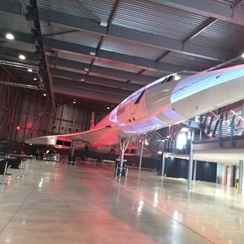 A tad bigger than what I normally collect, Concorde in the Filton Bristol Aerospace Museum, interesting site - Advertising