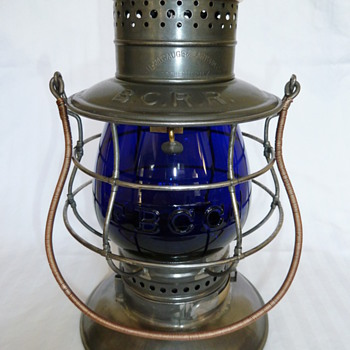 Beech Creek Railroad Lantern - Railroadiana