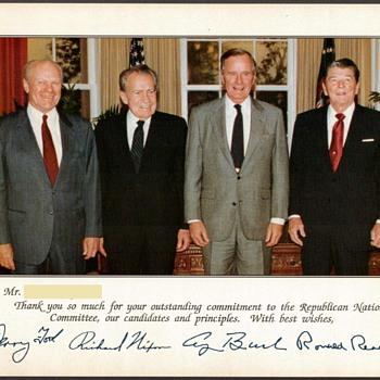 1990 - Republican Presidents Photograph - Photographs