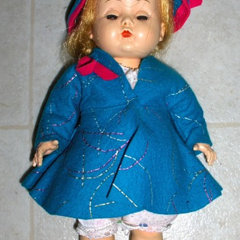"VIntage 11"" Doll - Dolls"