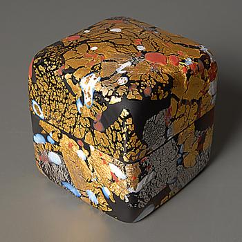Liuli box by Kyohei Fujita - I have one at last! - Art Glass