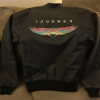 Vintage Journey 1980 Departure Tour Jacket, with Provenance. Women's Size Medium - Music Memorabilia