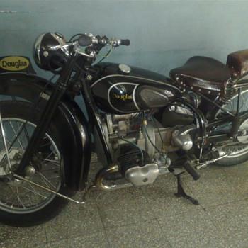 Douglas T35 1947 350cc - Motorcycles