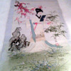 Asian Original  geisha? painting