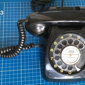 Plessey rotary telephone (1960's/70's?) - Telephones