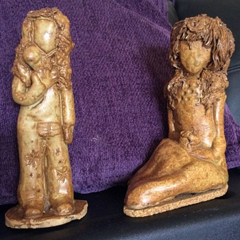 Two Transforming Figurines - Pottery