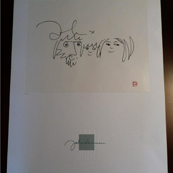 "John Lennon limited edition,""The Family""-1988 - Music Memorabilia"