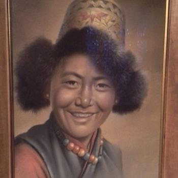 Tibetan Boy- Goray Douglas - Asian
