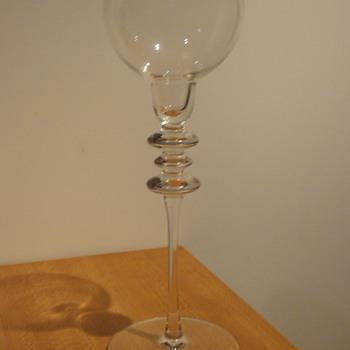 PEILL + PUTZLER ALEXA CANDLESTICK - Art Glass