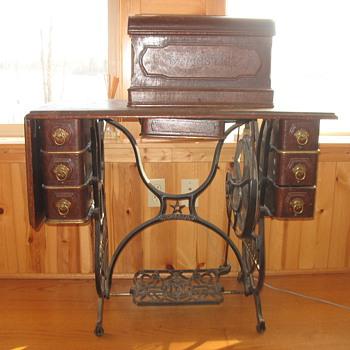 Domestic Antique Treadle Sewing Machine Collectors Weekly Interesting Antique Domestic Sewing Machine
