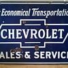Chevrolet 1930's Porcelain Sign
