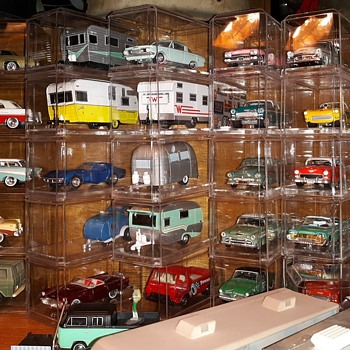 My New Improved 1/64 Die Cast Car Collection In Display Cases - Model Cars