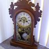 Antique Buttergum Mantle Clock