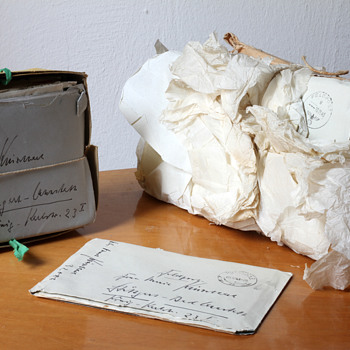 """A lot of """"Feldpost"""" letters, pictures an documents of a SS member.  - Military and Wartime"""