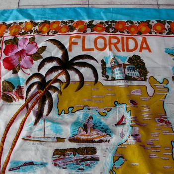 Oh the state I'm in! Florida souvenir scarf - Accessories
