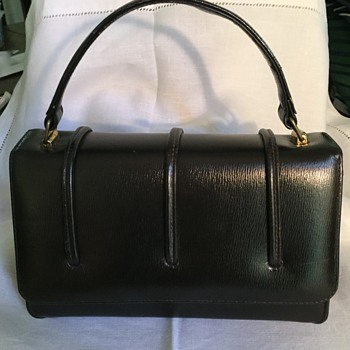 Brown handbag made in Canada -- By Whom?  Leather? - Accessories