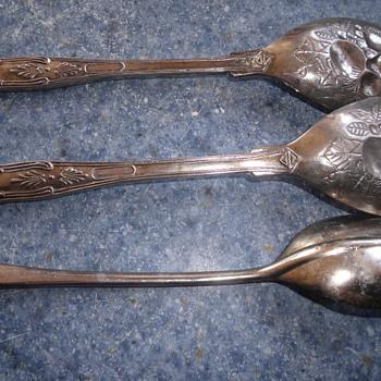 silver flatware - Silver
