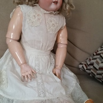 old            large doll   - Dolls